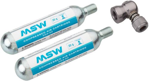MSW Windstream Push Kit with two 20g Cartridges