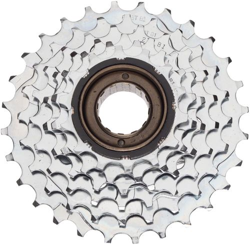 Dimension 6-Speed 14-28t Chrome Plated Freewheel