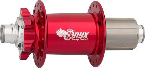 Onyx MTB Rear Hub - 12 x 148mm Boost, 6-Bolt, HG 10, Candy Red