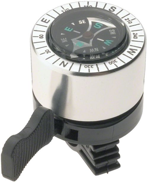 Dimension Compass Bell: Silver/Black