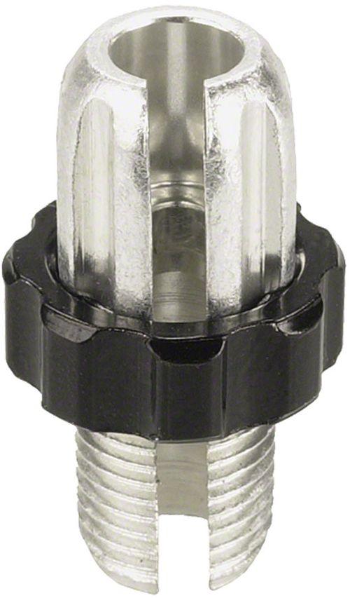 Problem Solvers 10mm Silver/ Black Adjusting Barrel, Pairs
