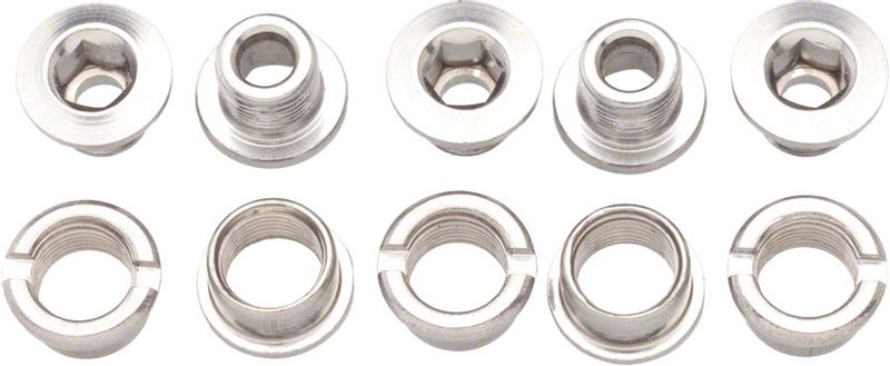 Problem-Solvers-Single-Chainring-Bolts-Silver-Alloy-CR0010-5