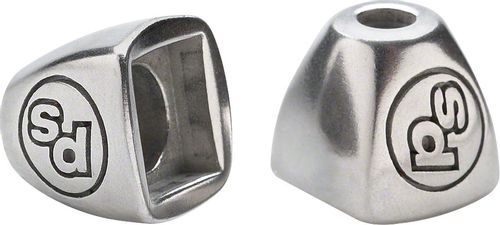 Problem Solvers Downtube Shifter Boss Covers Silver