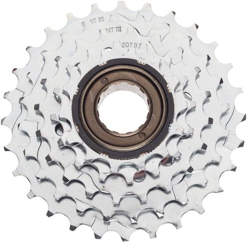 Dimension 5-Speed 14-28t Chrome Plated Freewheel
