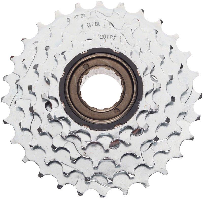 Dimension-5-Speed-14-28t-Chrome-Plated-Freewheel-FW7200-5