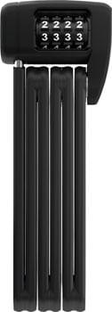 Abus BORDO Lite 6055C/85 Folding Lock - Combination, 2.8', 5mm, Black, Black