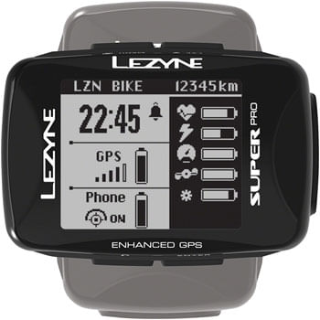 Lezyne Super Pro GPS HR Computer with Cadence