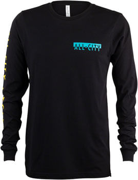 All City Super Pro Long Sleeve Shirt - Black, Red, White, Yellow, Teal, 2X-Large