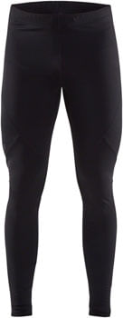 Craft Essential Warm Tights - Black, Men's, 2X-Large