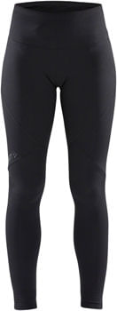 Craft Essential Warm Tights - Black, Women's, X-Large