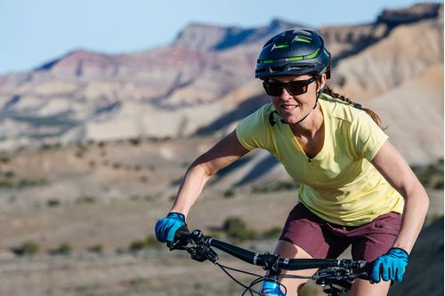 Club Ride Deer Abby Jersey - Yellow, Short Sleeve, Women's, Large