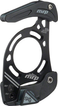 MRP SXg Alloy Chain Guide 34-38T ISCG-05, Black