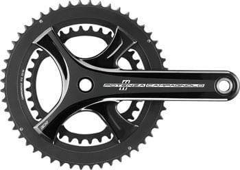 Campagnolo Potenza Crankset - 172.5mm, 11-Speed, 50/34t, 112/146 Asymmetric BCD, Campagnolo Ultra-Torque Spindle Interface, Black