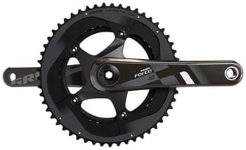 SRAM Force 22 Crankset - 165mm, 11-Speed, 53/39t, 130 BCD, GXP Spindle Interface, Black