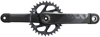 SRAM XX1 Eagle AXS Boost Crankset - 170mm, 12-Speed, 34t, Direct Mount, DUB Spindle Interface, Gray