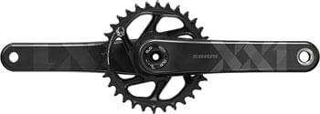 SRAM XX1 Eagle Carbon Crankset - 170mm, 12-Speed, 34t, Direct Mount, DUB Spindle Interface, Black