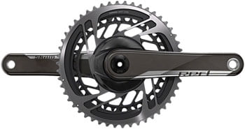 SRAM RED AXS Crankset - 175mm, 12-Speed, 50/37t, Direct Mount, DUB Spindle Interface, Natural Carbon, D1