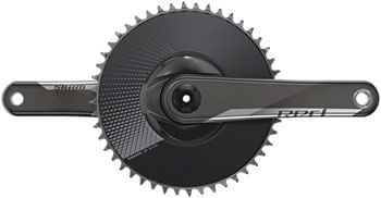 SRAM RED 1 AXS Crankset - 170mm, 12-Speed, 48t, Direct Mount, DUB Spindle Interface, Natural Carbon, D1