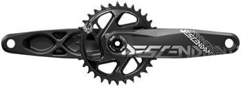 TruVativ Descendant 7K Eagle Aluminum SuperBoost + Crankset - 170mm, 12-Speed, 32t, Direct Mount, DUB Spindle Interface, Black