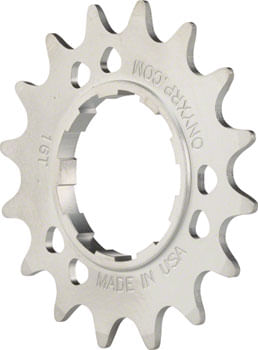 """Onyx Stainless Cog: Shimano Compatible, 3/32"""", 17t"""