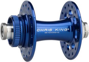Chris King R45D Front Hub - 12 x 100mm, Center-Lock, Navy, 32h