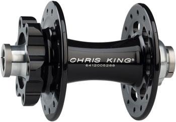 Chris King R45D Gen. 2 Front Hub - 12 x 100mm, 6-Bolt, Black, 28h