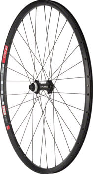 """Quality Wheels Deore M610/DT 533d Front Wheel - 27.5"""", 15 x 110mm Boost, Center-Lock, Black"""