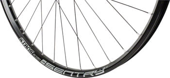 """Stan's No Tubes Sentry S1 Front Wheel - 29"""", 15 x 110mm Boost, 6-Bolt, Black"""