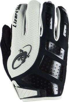 Lizard Skins Monitor SL Gloves - Gray/Black, Full Finger, Small