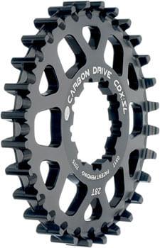 Gates Carbon Drive CDX:SL Rear Sprocket for 9-Spline Freehub - 28t, Black