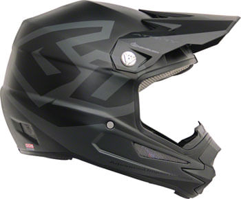 6D ATR-1Y Macro Youth Full-Face Helmet - Black, Youth, X-Large
