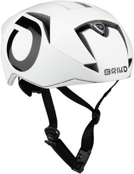 Briko Gass Helmet - Shiny Matte White, Small/Medium