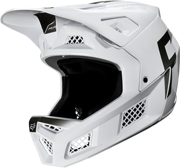 Fox Racing Rampage Pro Carbon Full Face Helmet - WURD White, Large