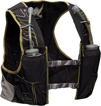 Nathan VaporKrar 2.0 Hydration Pack - 4 Liter, Black/Mosstone, XL