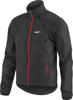 Garneau Cabriolet Men's Jacket: Black/Red SM