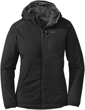 Outdoor Research Ascendant Women's Hoody: Black/Charcoal, XL