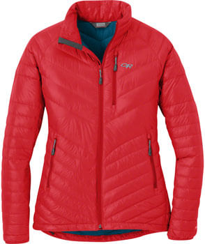 Outdoor Research Illuminate Women's 800-fill Down Jacket: Teaberry, XS
