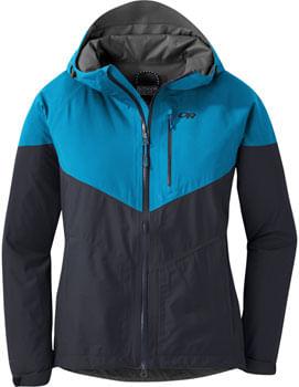 Outdoor Research Aspire Women's Jacket: Celestial Blue/Ink, XS