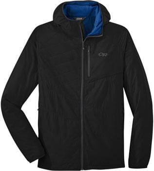 Outdoor-Research-Refuge-Air-Men-s-Hooded-Jacket--Black-SM-JK8966