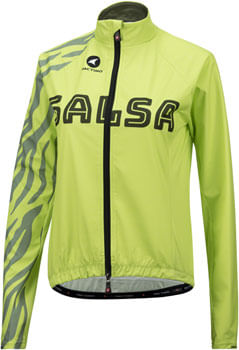 Salsa Team Women's Jacket: Yellow/Olive Green LG
