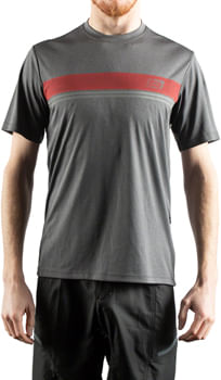 Bellwether Power Line Cycling Jersey - Charcoal, Men's, Small