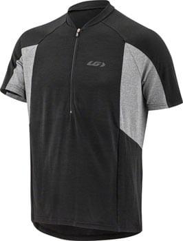 Garneau Connection Jersey - Black/Gray, Short Sleeve, Men's, Small