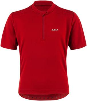Garneau Lemmon 2 Junior Jersey - Red Rock, Short Sleeve, Youth, Large