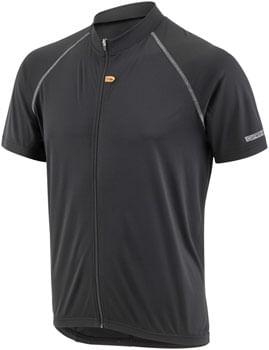 Garneau Manchester Jersey - Black, Short Sleeve, Men's, Small