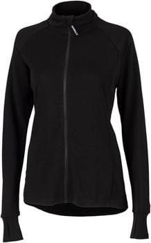 Surly Merino Wool Jersey - Black, Long Sleeve, Women's, X-Small