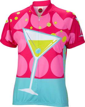 World Jerseys Martini Time Jersey - Multi-Color, Short Sleeve, Women's, X-Large
