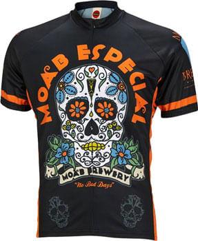 World Jerseys Moab Brewery Especial Jersey - Black, Short Sleeve, Men's, 2X-Large