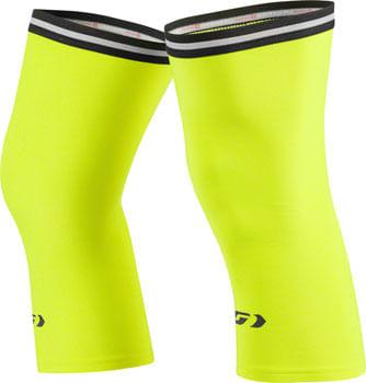 Garneau Knee Warmers 2: Bright Yellow XL