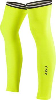 Garneau Leg Warmers 2: Bright Yellow SM