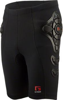 G-Form Pro-B Compression Shorts: Black, XL